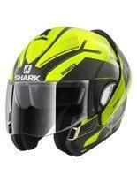 Filp-Up Helmet Shark Evoline Series 3 Hataum Hi-Vis