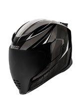Full face helmet Icon Airflite Black
