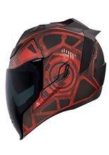 Full face helmet Icon Airflite Blockchain red