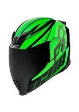 Full face helmet Icon Airflite Green