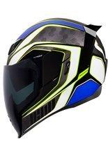 Full face helmet Icon Airflite Raceflite blue