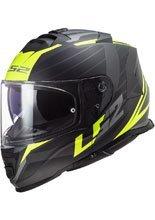 Full face helmet LS2 FF800 Storm Nerve matt black-fluo