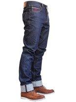Jeansowe spodnie motocyklowe FREESTAR CALIFORNIA SELVAGE