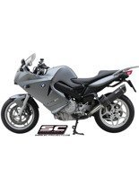 Oval Slip-on silencer SC-Project for BMW F 800 S / ST [06-12]