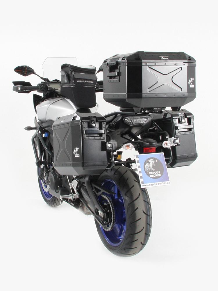 alu rack hepco becker yamaha mt 09 tracer abs moto tour. Black Bedroom Furniture Sets. Home Design Ideas