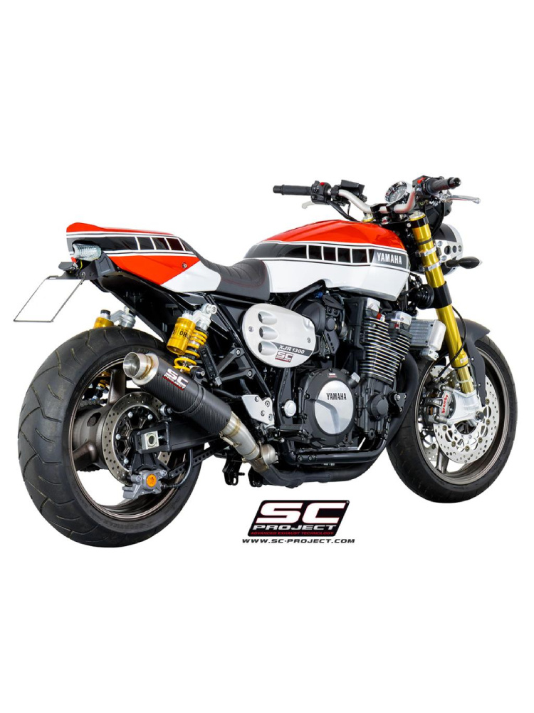 GP65 Silencer Slip-on SC-Project for Yamaha XJR 1300 / RACER