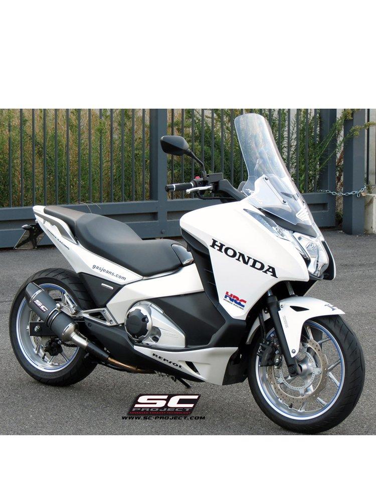 Oval Silencer Slip-on SC-Project for Honda NC 750 S / NC 750 X [14