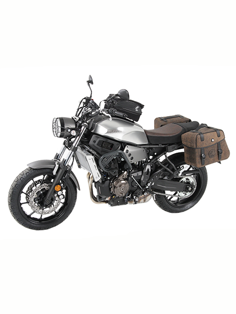 sidecarrier hepco becker yamaha xsr 700 with lock it system moto online store. Black Bedroom Furniture Sets. Home Design Ideas