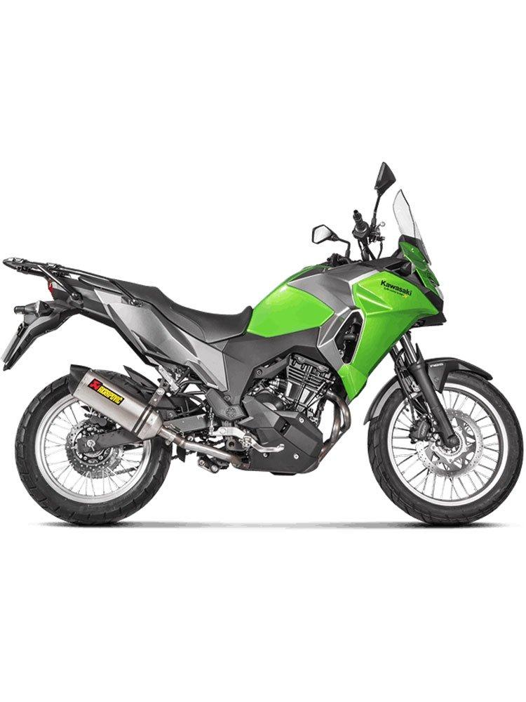 Silencer Slip-On Line (TITANIUM) Akrapović Kawasaki Versys-X