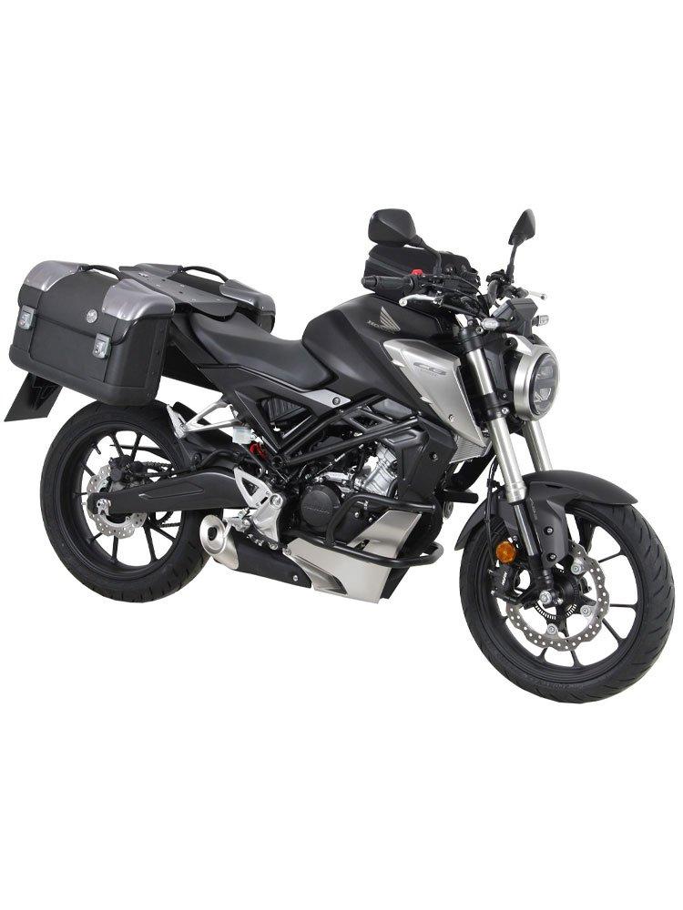 tankring lock it honda cb 125 r 2018 silver moto tour. Black Bedroom Furniture Sets. Home Design Ideas