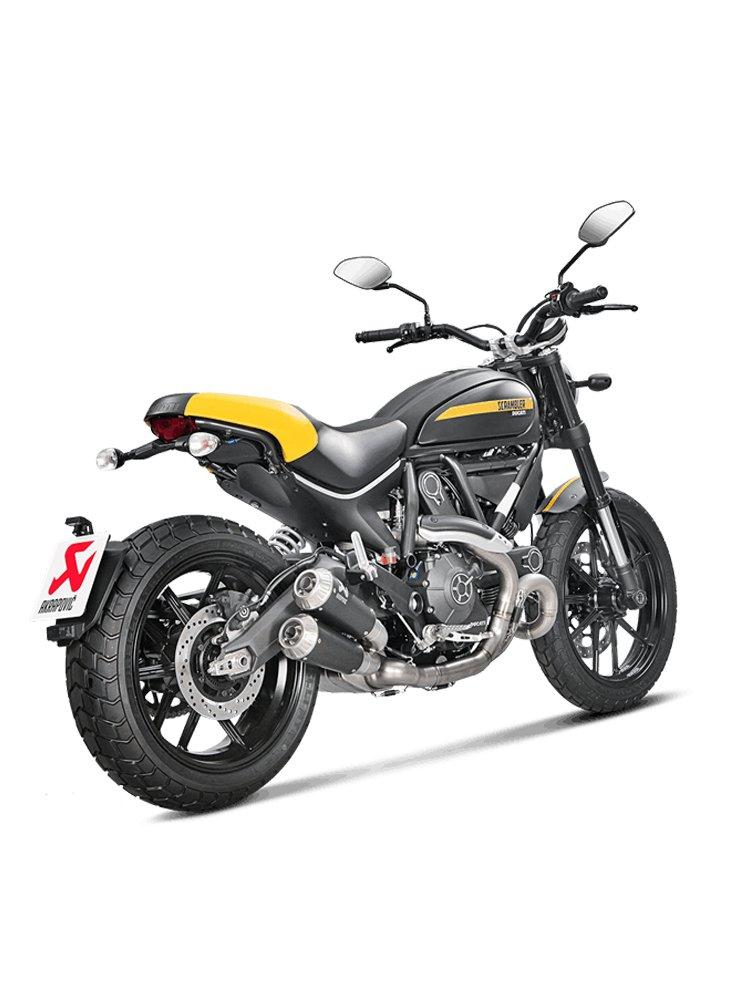 Titanium exhaust systems Akrapović FOR Ducati Scrambler Cafe Racer