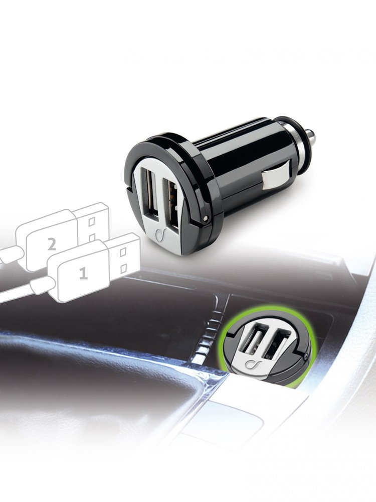 Universal usb car charger dual interphone moto for Car port pl
