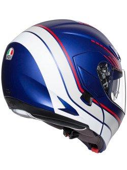 Flip-up helmet AGV COMPACT ST BOSTON BLUE/WHITE/RED