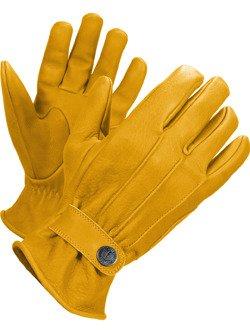 Leather Glove John Doe Grinder - XTM yellow