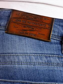 Motorcycle jeans JOHN DOE Original [light blue used]