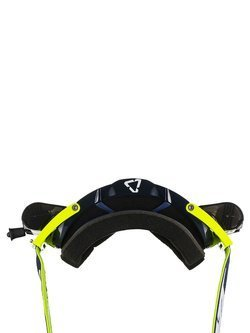 Off-road goggle Leatt Velocity 6,5 Roll-Off Clear 83% Ink/White/Yellow