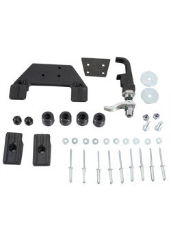 Quick release kit Hepco&Becker for saddlebags by self assembly (1 side)