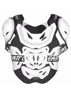 Chest Protector Leatt 5.5 Pro White