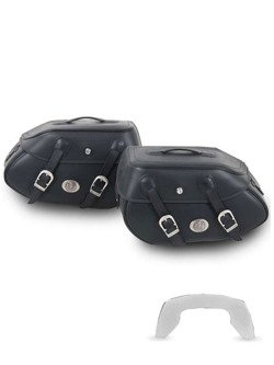 Hepco and Backer saddlebags Buffalo for C-Bow Carrier