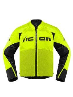 Motorcycle Jacket Icon Contra 2 Hi-Viz