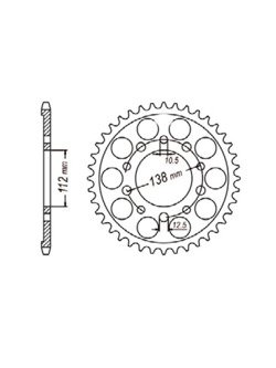 Rear sprocket SUNSTAR 1-3485 [39 tooth]