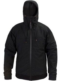 Softshell Jacket JOHN DOE Hoodie with aramid fiber