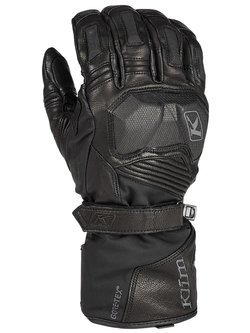 Textile gloves Klim Badlands GTX Long black