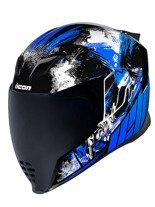 Kask integralny Icon Airflite Stim Blue