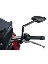 Lusterka PUIG Hi-Tech 2 do kierownic motocykli Aprilia / Ducati / Honda / Kawasaki / KTM / MV Agusta / Suzuki / Triumph / Yamaha (czarne)