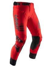 Spodnie off-road Leatt GPX 5.5 I.K.S czerwono-czarne