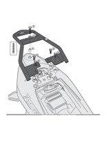 Stelaż GIVI pod kufer centralny Monolock® Suzuki Inazuma 250 [12-16]