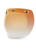Szyba 3-SNAP BUBBLE Amber Gradient do kasku BELL CUSTOM 500