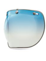 Szyba 3-SNAP BUBBLE DELUXE Ice Blue Gradient do kasku BELL CUSTOM 500