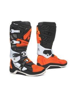 Buty enduro Forma Pilot czarno-pomarańczowo-białe
