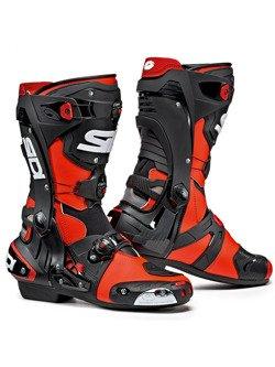 Buty sportowe Sidi Rex czarno-czerwone fluo