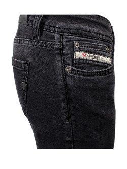 Damskie jeansy motocyklowe JOHN DOE High Waist Betty
