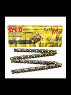 HONDA CBF600N/600S [04-07] zestaw napędowy DID525 VX ZŁOTY PRO - STREET( X-ring super - wzmocniony) zębatki SUNSTAR