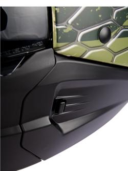 Kask modułowy Scorpion EXO-COMBAT GREEN
