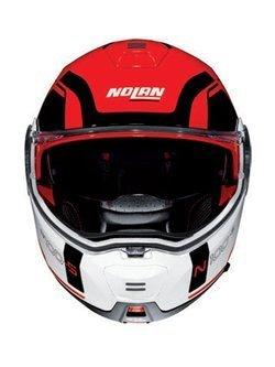 Kask szczękowy Nolan N100-5 Consistency N-Com czerwony