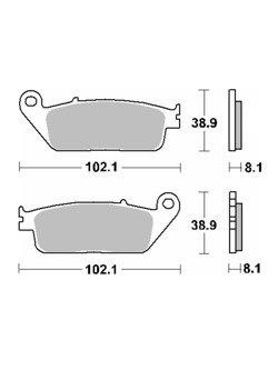 Klocki hamulcowe [przód/tył] SBS 627 HF