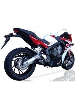 Kompletny układ wydechowy IXIL SLASHED CONE XTREM BLACK X55SSB Honda CB 650 F [14-18]/ CBR 650 F [15-17]