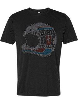 Koszulka motocyklowa John Doe Helmet czarna