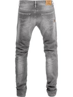 Spodnie motocyklowe jeansowe John Doe Ironhead - XTM szare