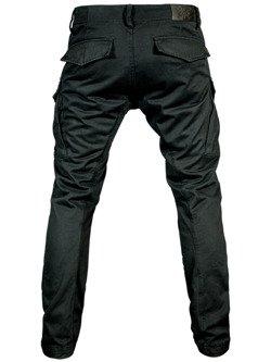 Spodnie motocyklowe tekstylne John Doe Cargo Stroker czarne