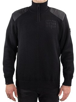Sweter JOHN DOE Zip Small Logo