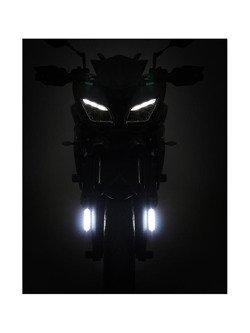 Światło do jazdy dziennej DENALI z uniwersalnym zestawem do montażu(CIEPŁE ŚWIATŁO)