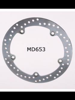 Tarcza Hamulcowa EBC MD653 Stainless Steel Rotor na tył. Średnica 276mm.