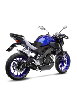 Tłumik LeoVince FULL EX. 1/1 LV ONE EVO CARBON CAN do YAMAHA MT-125 (17-19), YAMAHA YZF-R 125 (17-18)