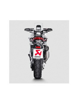 Tłumik Slip-On Line (TITANIUM) Akrapović Honda X-ADV 750 [17-19]