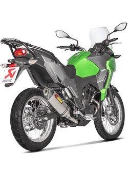 Tłumik Slip-On Line (TITANIUM) Akrapović Kawasaki Versys-X 250/300 [17-18]